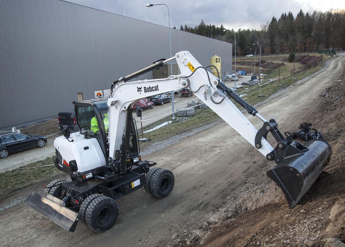Il Nuovo Bobcat E57W - Bobcat E57W escavatore escavatore cingolato escavatore gommato escavatori escavatori cingolati escavatori gommati -Construction&Movimento Terra Escavatori Notizie - MC5.0-Macchine Cantieri 4