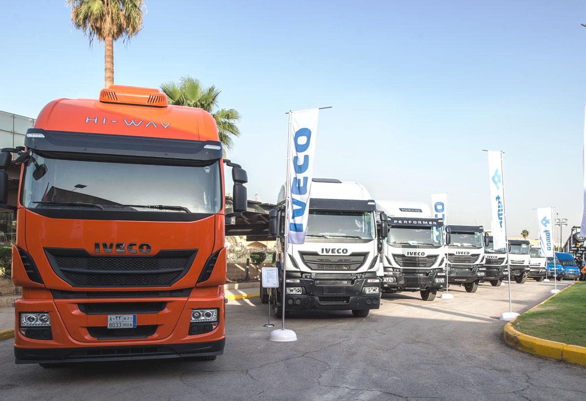 Iveco e Astra in Arabia - Arabia Saudita Astra autocarri camion dumper Famco Iveco -Notizie Pillole Veicoli industriali e leggeri - MC5.0-Macchine Cantieri