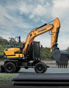 Hyundai: tutte le novità gommate pale gommate Hyundai HW210 HW140 HL980 escavatori gommati