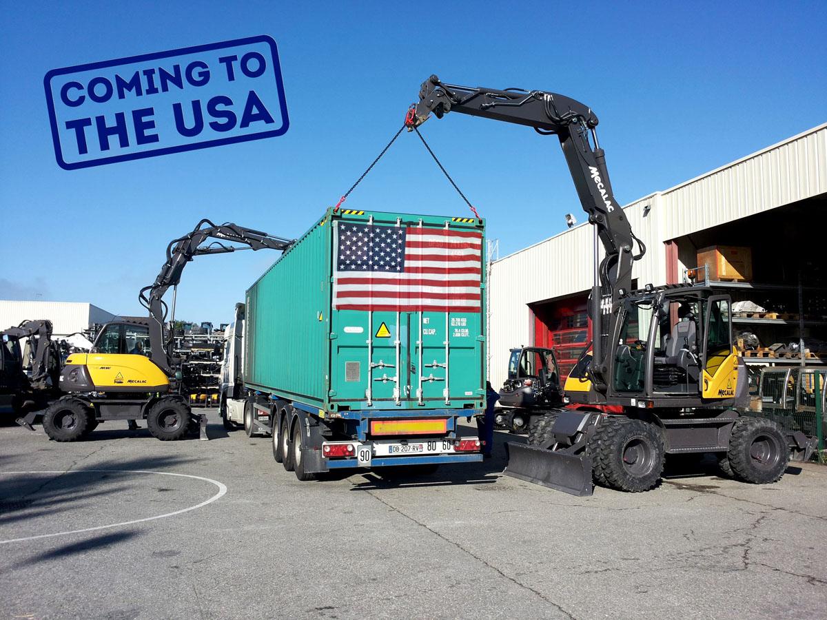 Mecalac sbarca negli Stati Uniti -  -Notizie - MC5.0-Macchine Cantieri