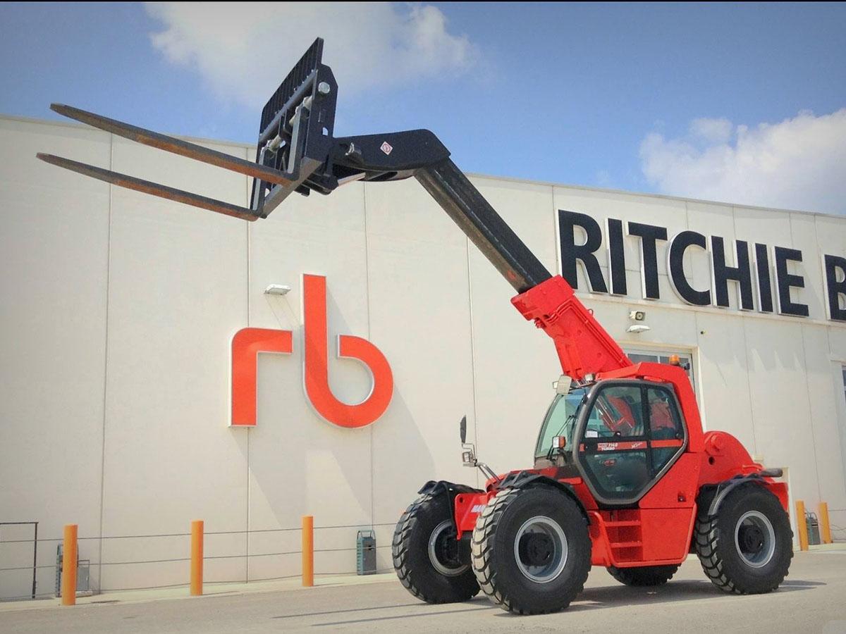 Ritchie Bros, l'asta del 7 luglio -  -Aste Construction In quota Sollevatori telescopici - MC5.0-Macchine Cantieri