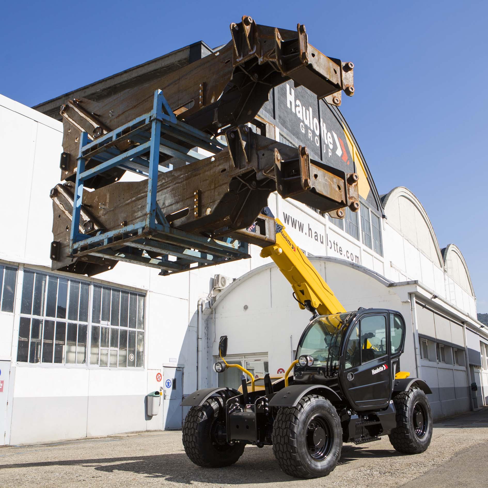 Haulotte i nuovi sollevatori pesanti -  -In quota Notizie Sollevatori telescopici - MC5.0-Macchine Cantieri 5