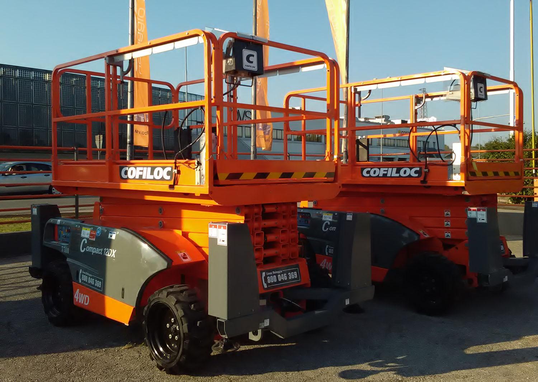 Cofiloc investe sulle macchine Haulotte -  -In quota Noleggio Piattaforme aeree Pillole - MC5.0-Macchine Cantieri