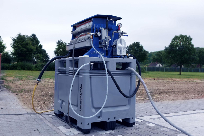 Gli impianti Lissmac - impianti di filtraggio Lissmac impianto mobile di filtraggio SFA 400 impianto mobile di filtraggio SFA 900 Niederstätter -Attrezzature da cantiere Notizie - MC5.0-Macchine Cantieri 1