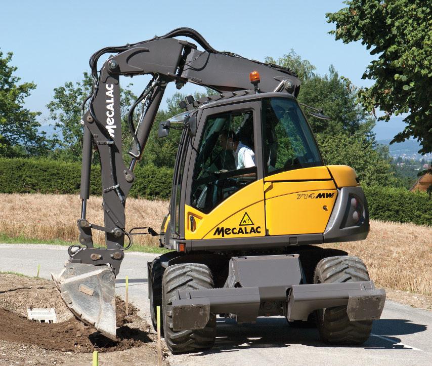 Mecalac: grandi acquisti -  -Aziende Stradali - MC5.0-Macchine Cantieri