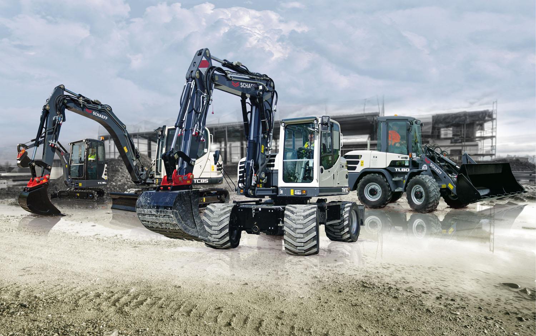 Schaeff, il ritorno - macchine movimento terra compatte midiescavatori miniescavatori pale gommate Schaeff Schaeff TC125 Schaeff TL120 Schaeff TW95 Yanmar -Construction Notizie Pale - MC5.0-Macchine Cantieri