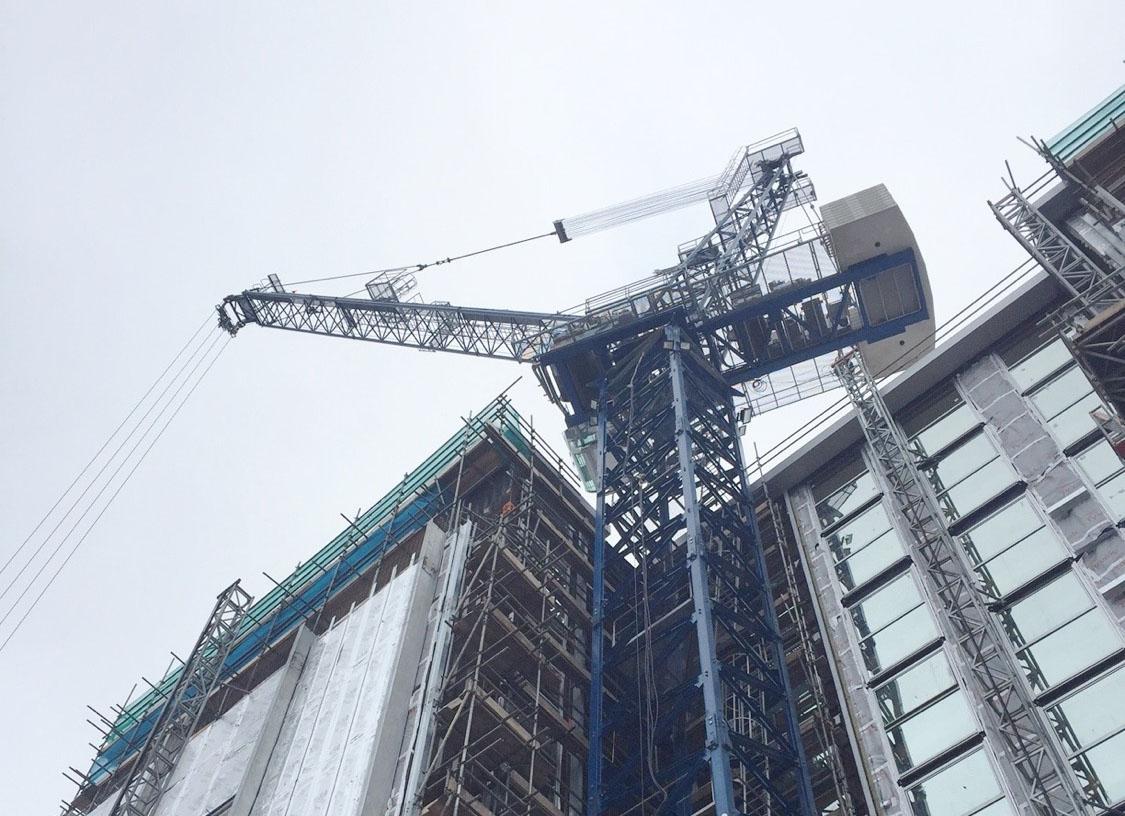 Linden Comansa al Conexpo - Conexpo Las Vegas LCL310 Linden Comansa -Fiere Gru a torre In quota Notizie - MC5.0-Macchine Cantieri 2