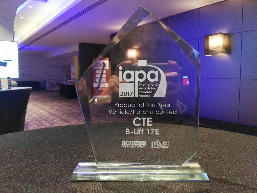 CTE vince agli IAPAs 2017 -  -Notizie - MC5.0-Macchine Cantieri