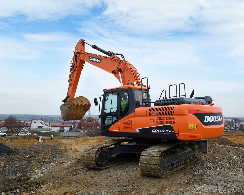 Doosan: il nuovo DX225LC-5 -  -Construction Escavatori Notizie - MC5.0-Macchine Cantieri 1