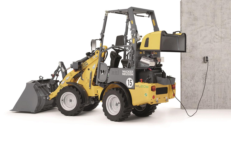 La WL20e cambia batteria -  -Construction Notizie Pale - MC5.0-Macchine Cantieri 1