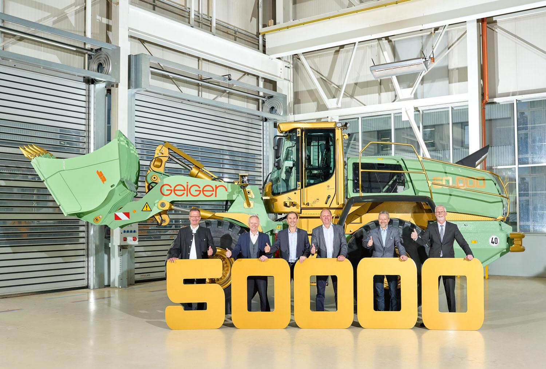 Liebherr ne fa 50.000 -  -Notizie - MC5.0-Macchine Cantieri