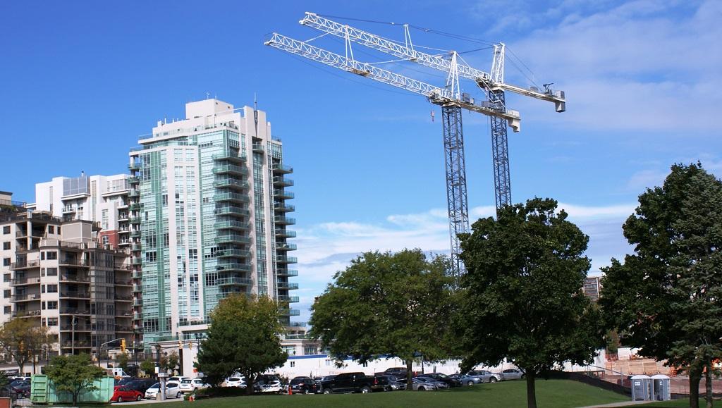 Ontario: al lavoro due gru a torre Terex SK -  -Notizie - MC5.0-Macchine Cantieri