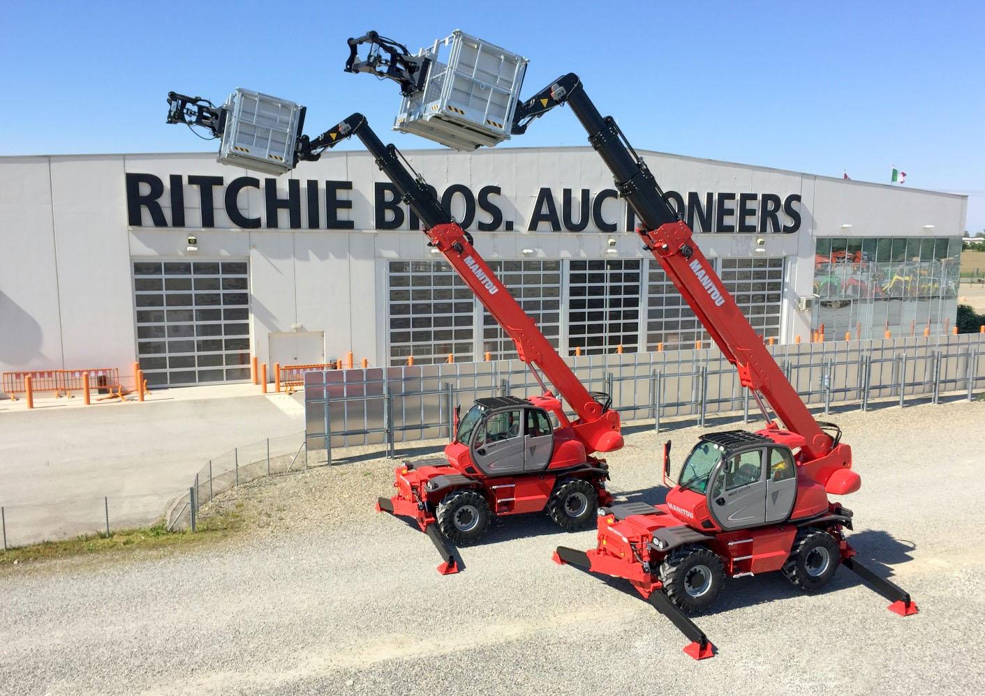 Ritchie Bros.: 123 aste nel 2017 -  -Notizie - MC5.0-Macchine Cantieri 1