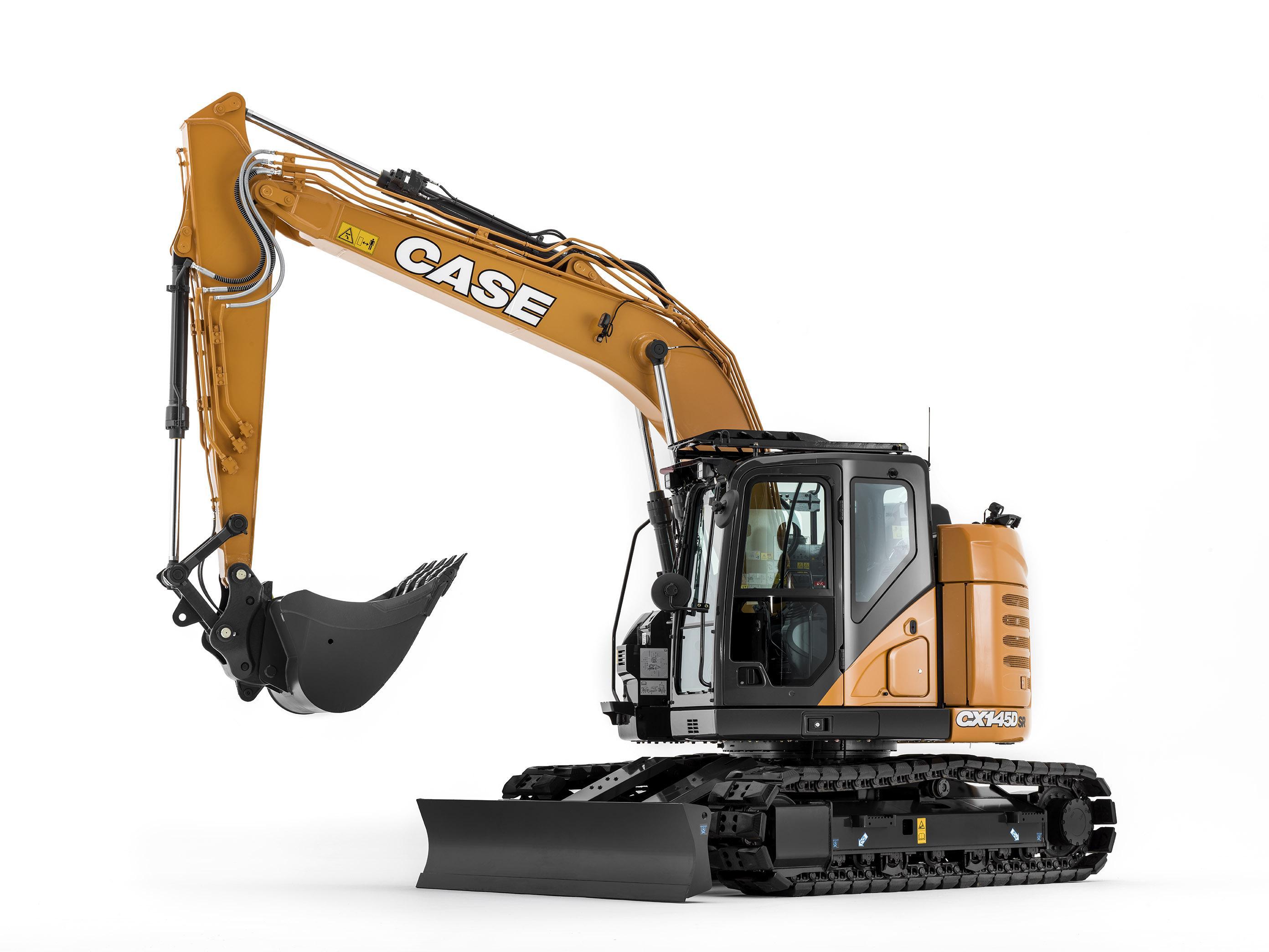 Case propone il nuovo escavatore CX145D -  -Notizie - MC5.0-Macchine Cantieri