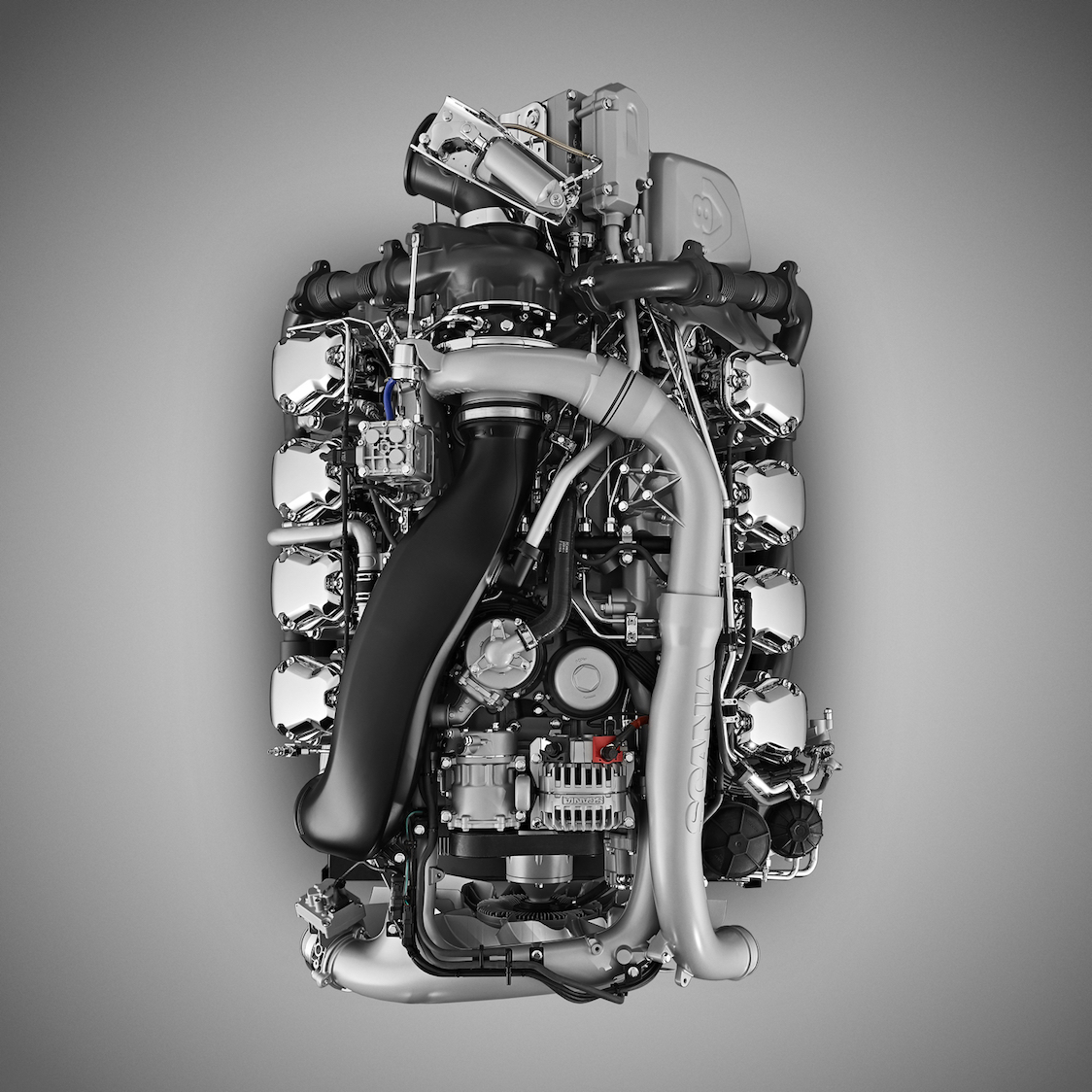 I nuovi Scania V8: migliori, a piccoli passi -  -Notizie - MC5.0-Macchine Cantieri