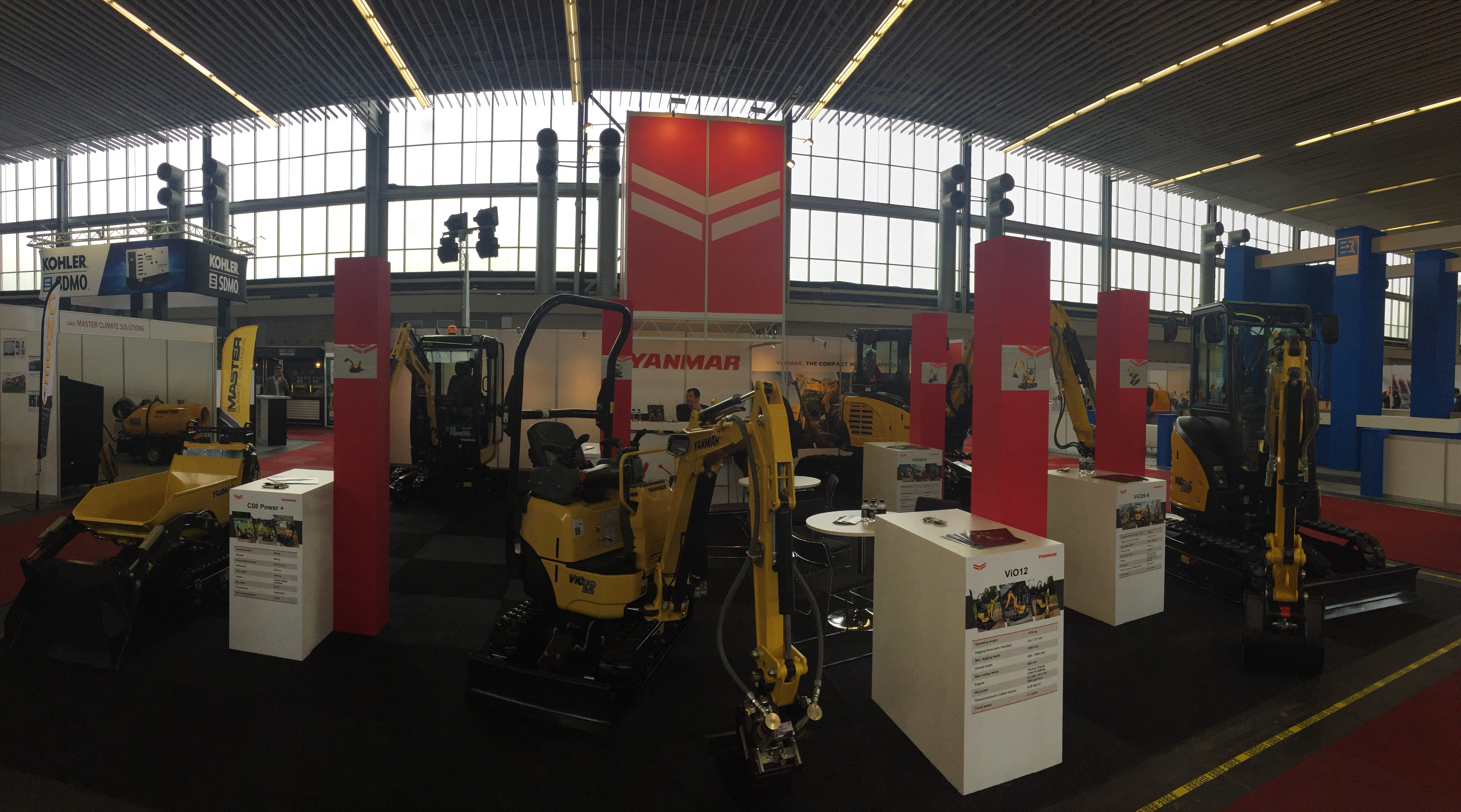 Yanmar all'IRE 2017 -  -Construction Notizie - MC5.0-Macchine Cantieri