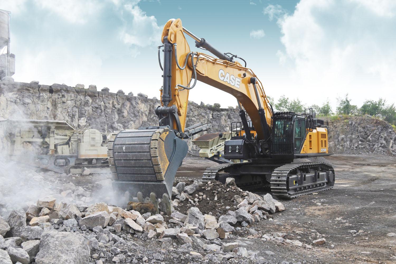 CASE: il nuovo escavatore cingolato CX750D -  -Construction Notizie - MC5.0-Macchine Cantieri