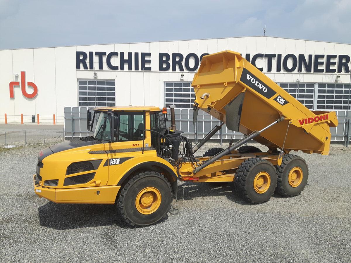 Ritchie Bros.: l'asta del 5 ottobre -  -Construction Notizie - MC5.0-Macchine Cantieri 1