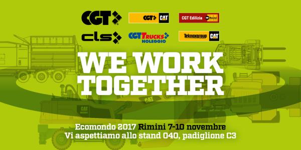 CGT a Ecomondo -  -Notizie - MC5.0-Macchine Cantieri