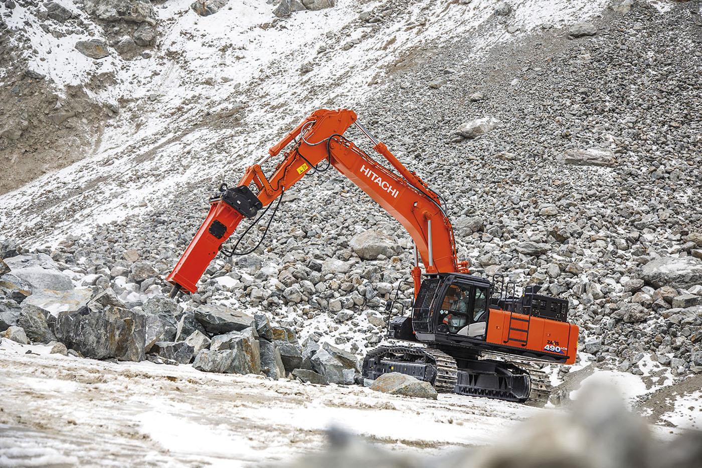 In cava, meglio Hitachi -  -Construction Notizie - MC5.0-Macchine Cantieri 2