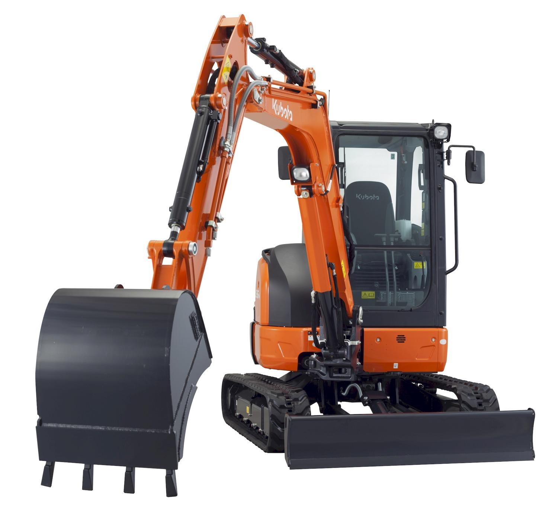 Il nuovo U36-4 di Kubota - Kubota miniescavatore U36-4 -Construction Notizie - MC5.0-Macchine Cantieri