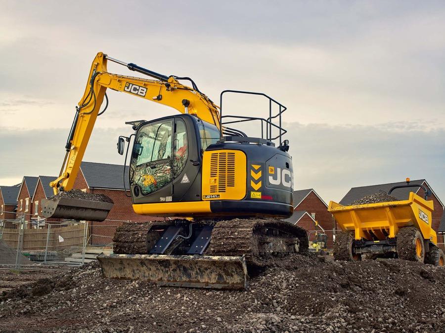 Arriva il nuovo escavatore cingolato JCB JZ141 - escavatore cingolato JCB JZ141 -Construction Escavatori Notizie - MC5.0-Macchine Cantieri