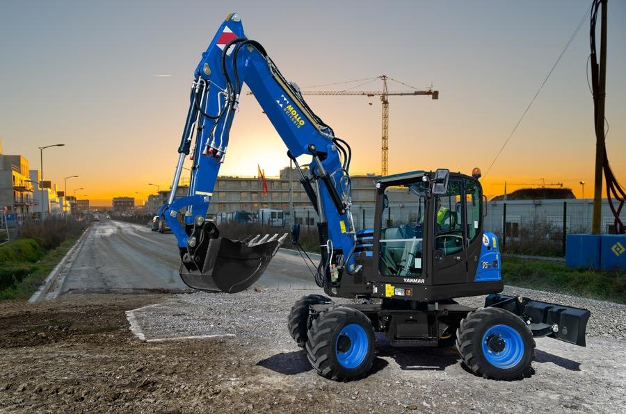 Gli escavatori di Yanmar CEE convincono Mollo Noleggio -  -Construction Escavatori Noleggio Notizie - MC5.0-Macchine Cantieri