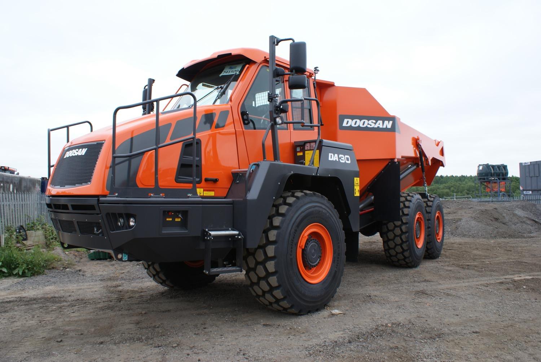Un DA30 nuovo nuovo per Doosan -  -Notizie - MC5.0-Macchine Cantieri