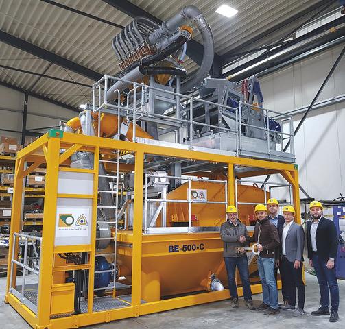 Bauer MAT consegna l'impianto numero 1.000 - Bauer MAT Slurry Handling Systems microtunneling tunnelling -Construction&Movimento Terra Notizie - MC5.0-Macchine Cantieri