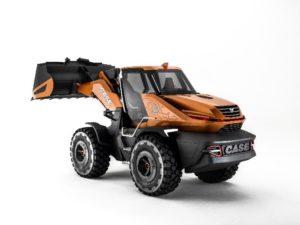 FPT muove Tetra, il nuovo concept di pala gommata Case Construction progetto Tetra pala gommata motori motore FTP Case bauma