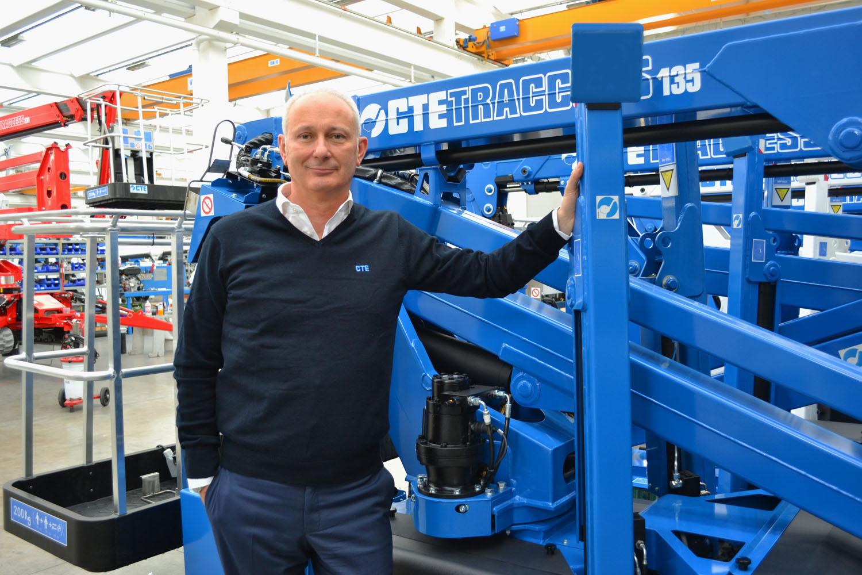 Carbonara è il nuovo CTE Traccess brand manager - CTE piattaforma cingolata piattaforme cingolate ragni ragno -In quota Notizie - MC5.0-Macchine Cantieri