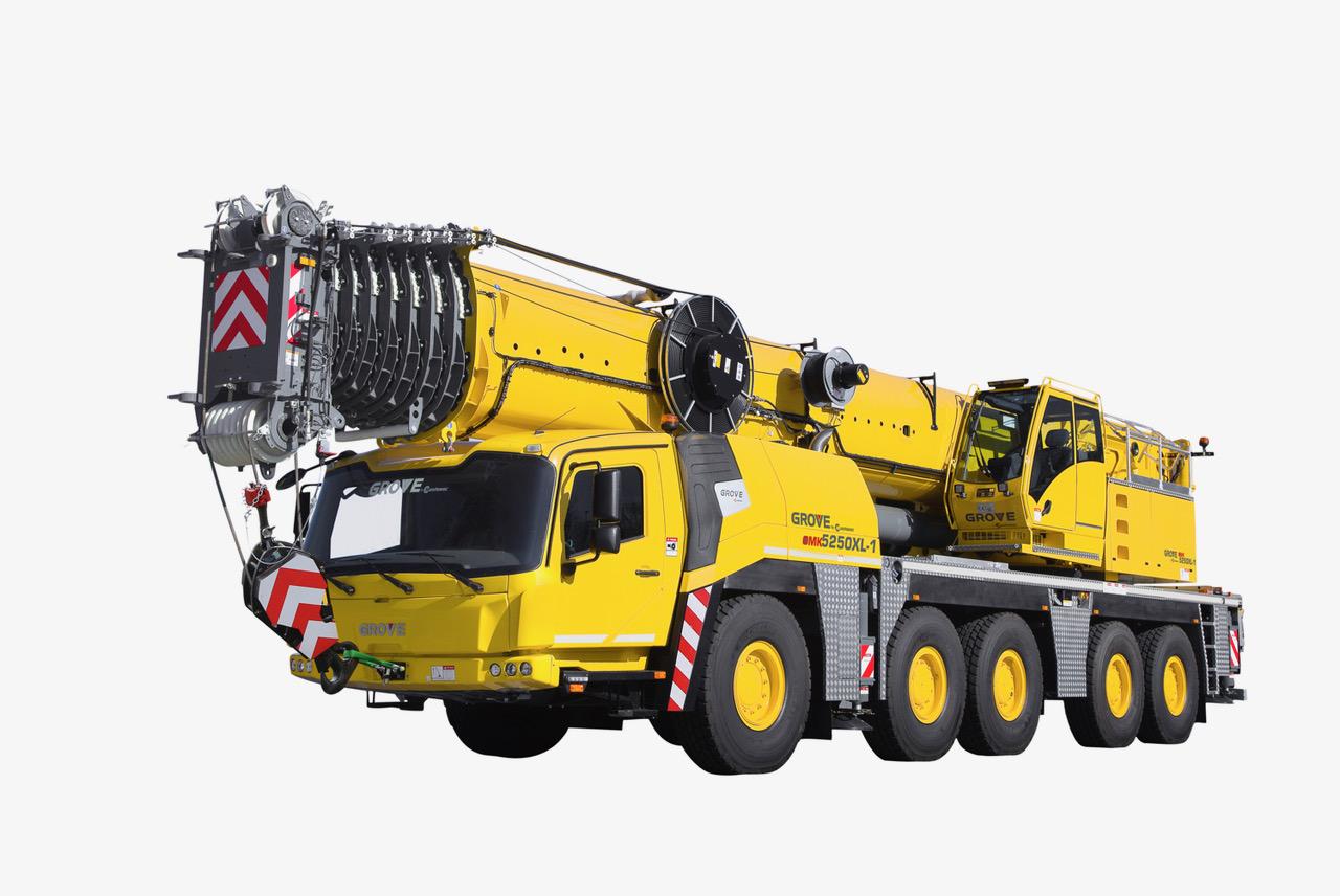 Tre nuove autogrù multistrada per Grove - autogrù autogrù multistrada bauma 2019 Grove Manitowoc -In quota Notizie - MC5.0-Macchine Cantieri 5