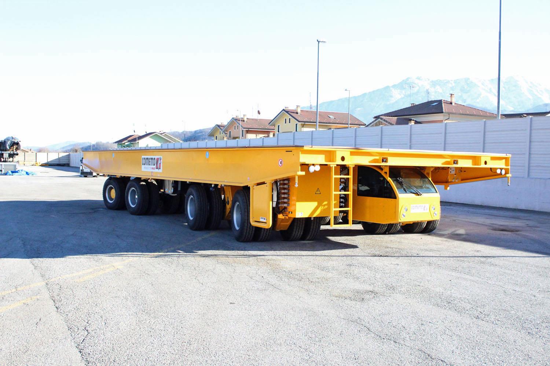 Cometto per Fincantieri - Cometto Fincantieri semovente trasporti eccezionali trasporto eccezionale -Notizie Trasporti eccezionali - MC5.0-Macchine Cantieri 1