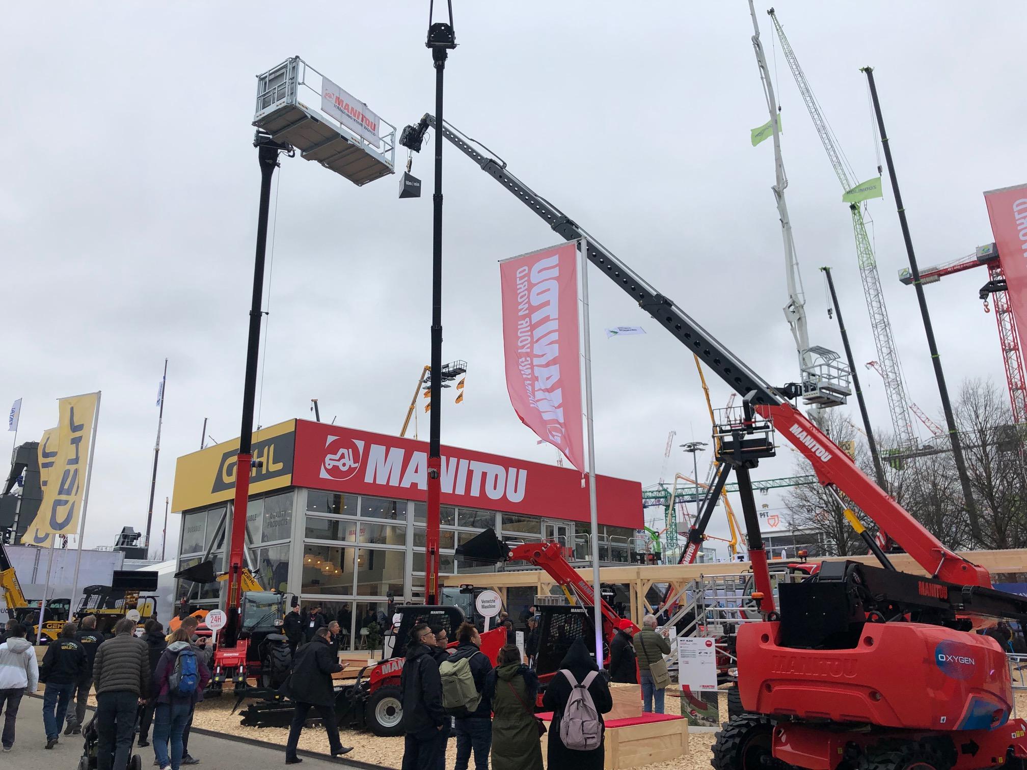 Il Bauma di Manitou - bauma Manitou -In quota Notizie - MC5.0-Macchine Cantieri