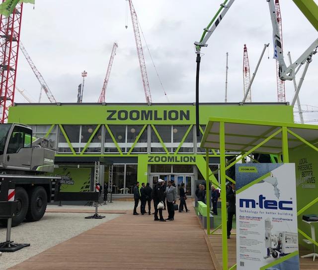 Il bauma del Gruppo Zoomlion - bauma Cifa Zoomlion -Calcestruzzo Notizie - MC5.0-Macchine Cantieri 4