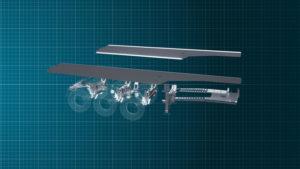 Un ribaltabile rivoluzionario veicolo industriale veicoli industriali SSAB Mantella camion