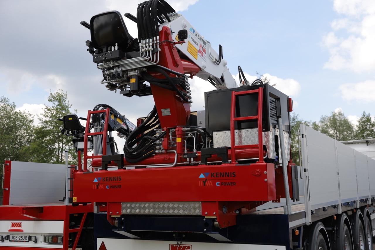 Una gru retrocabina elettrica da Hyva - gru retrocabina gru retrocabina elettrica Hyva Kennis -In quota Notizie - MC5.0-Macchine Cantieri 1