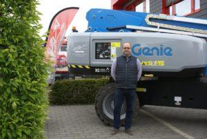 Le piattaforme aeree Xtra Capacity di Genie continuano a convincere clienti e noleggiatori piattaforme semoventi piattaforme aeree piattaforma semovente piattaforma aerea noleggio Genie