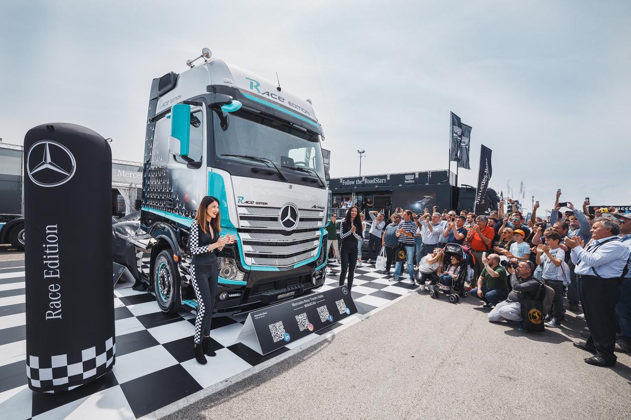 Il cuore racing di Mercedes-Benz - camion edizione speciale Mercedes-Benz truck veicoli industriali veicolo industriale -Notizie Veicoli industriali e leggeri - MC5.0-Macchine Cantieri 5