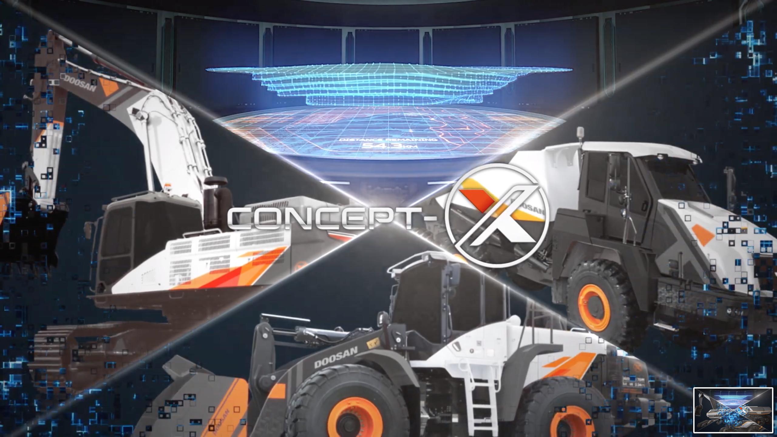 Concept X by Doosan anticipa il futuro -  -Notizie - MC5.0-Macchine Cantieri 10