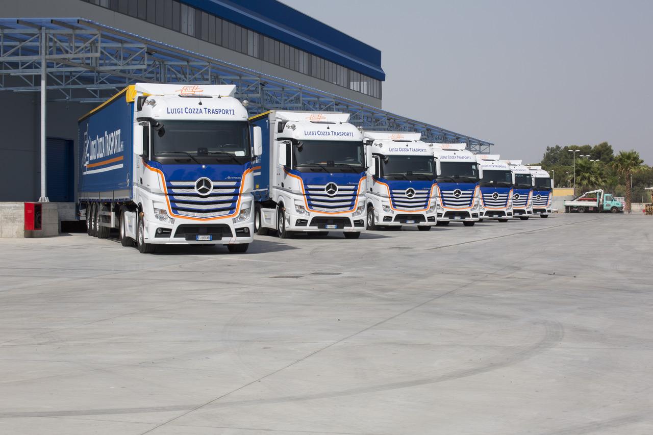 LCT SpA sceglie i nuovi Actros di Mereceds-Benz - Actros camion Mercedes-Benz truck veicoli industriali veicolo industriale -Notizie Veicoli industriali e leggeri - MC5.0-Macchine Cantieri 2