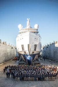 Agli yacht ci pensa Mammoet trasporto eccezionale trasporto trasporti eccezionali trasporti Mammoet Azimuth Benetti Group