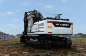 Lespansione continua di Hidromek Plantworx Hidromek eventi escavatori escavatore cingolato