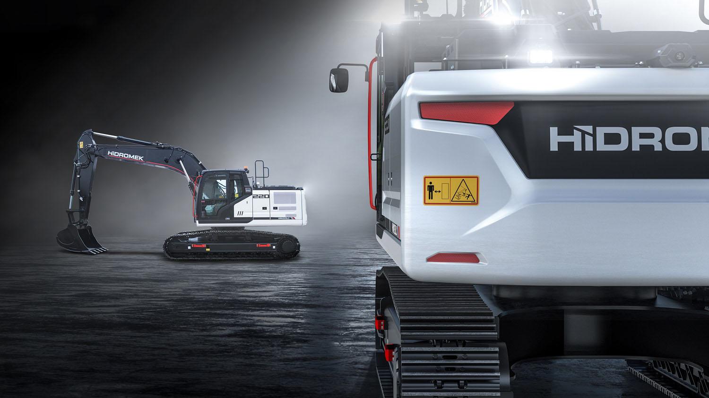 L'espansione continua di Hidromek - escavatore cingolato escavatori eventi Hidromek Plantworx -Construction&Movimento Terra Notizie - MC5.0-Macchine Cantieri 5