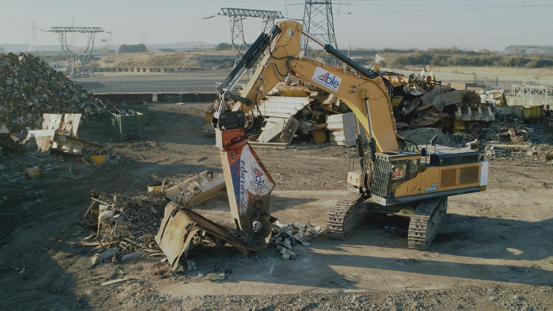 Hyundai vende il primo HX900 L in Europa - ABLE UK escavatore cingolato Hyundai Taylor & Braithwaite -Construction&Movimento Terra Notizie - MC5.0-Macchine Cantieri 1