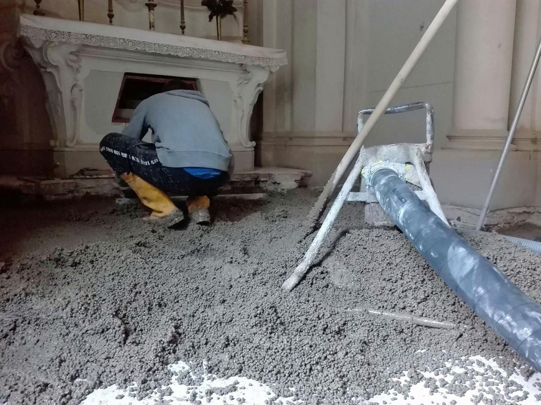 Laterlite presenta il nuovo Sottofondo CentroStorico Calce - argilla espansa bioedilizia Laterlite sottofondo -Materiali edili&Impiantistica Notizie - MC5.0-Macchine Cantieri 3