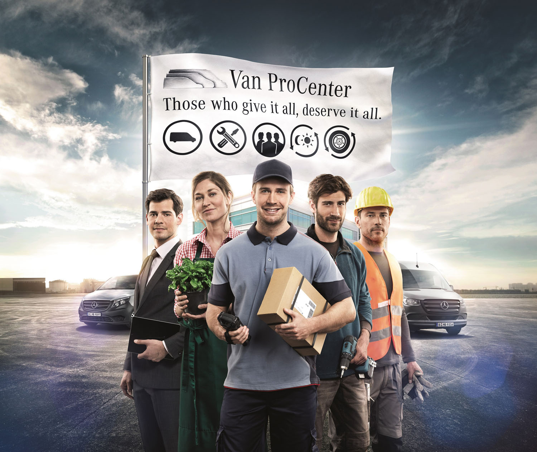 200 concessionari per la rete Van ProCenter di Mercedes-Benz - Mercedes-Benz Van ProCenter veicoli commerciali veicolo -Notizie Veicoli industriali e leggeri - MC5.0-Macchine Cantieri
