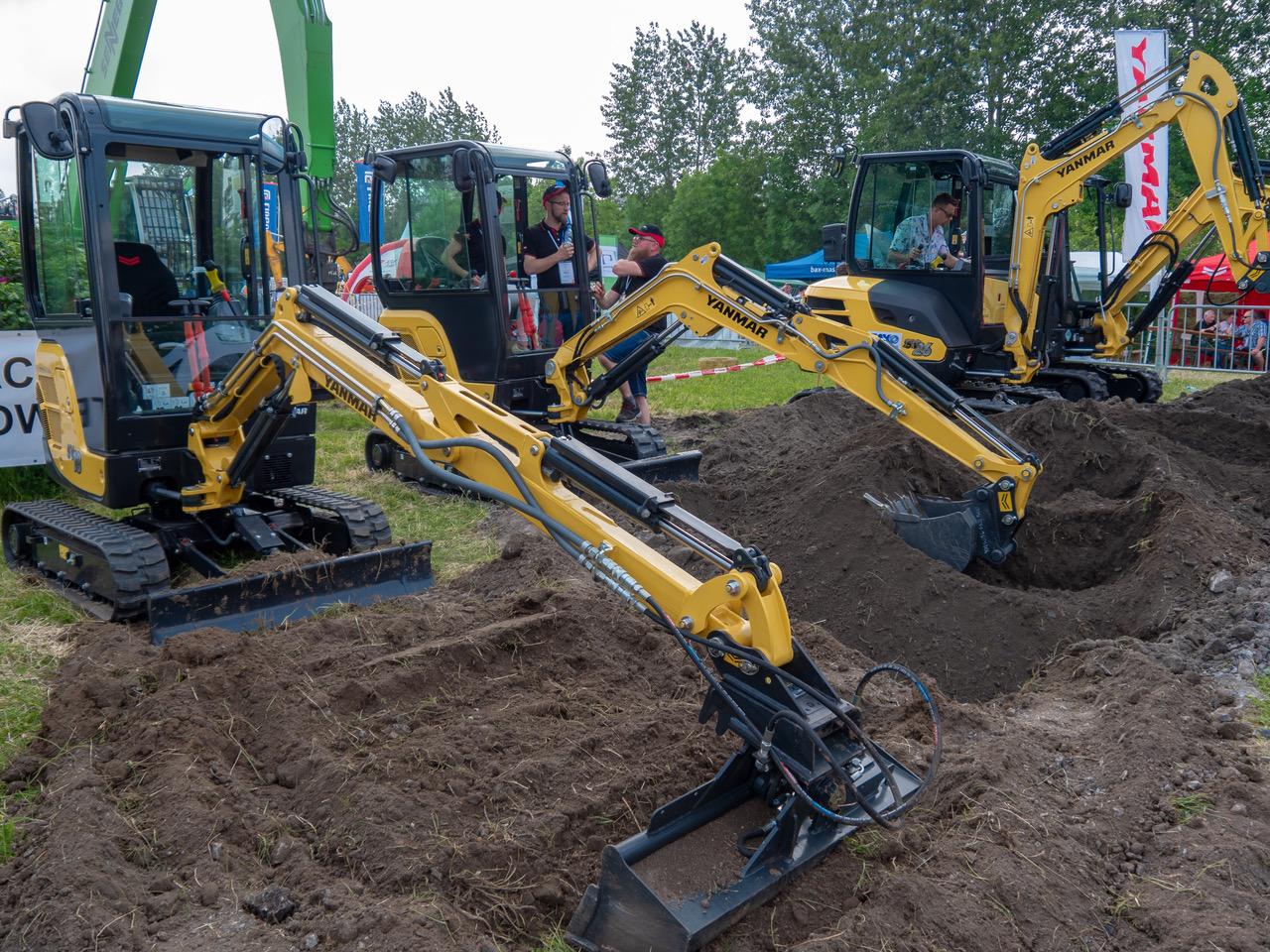Yanmar CEE in mostra all'Erobocze Show 2019 - escavatore cingolato escavatore gommato escavatori cingolati escavatori gommati miniescavatore miniescavatori Yanmar CEE -Construction&Movimento Terra Notizie - MC5.0-Macchine Cantieri 1