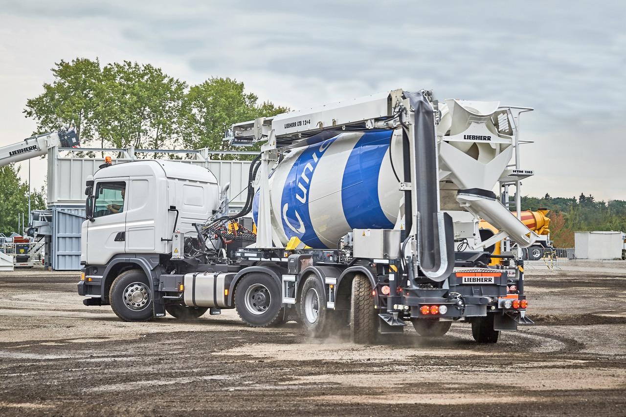 La nuova betoniera Liebherr su semirimorchio - autobetoniera autobetoniere Liebherr -Calcestruzzo Notizie - MC5.0-Macchine Cantieri