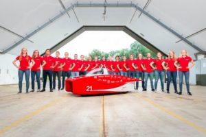 Mammoet sostiene lo sviluppo della nuova auto solare di Solar Team Twente trasporto eccezionale trasporti eccezionali Mammoet